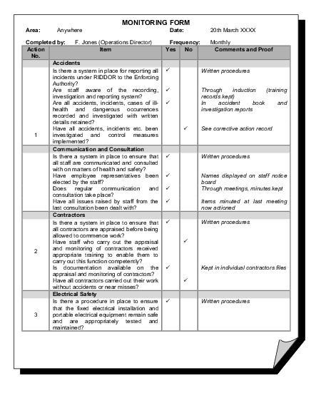checklist forms - Parfu kaptanband co